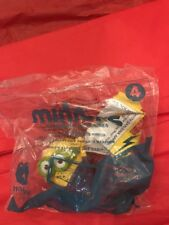 2015 McDonalds MINIONS -TALKING MARTIAL ARTS MINION Figure Toy #4 NIP Happy Meal