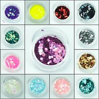 Chunky Square Glitter pot Festival Dance Clubbing Make up Eye Face Body Cosmetic