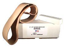 "2""x36"" Leather Strop Honing Belt Polishing w Buffing Compound Pro Sharpening New"
