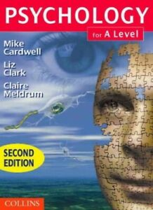 Psychology for A-Level 2nd ed by Meldrum, Claire Paperback Book The Cheap Fast