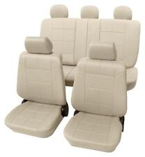 Beige Seat Covers with a Classy Leather Look - Mitsubishi OUTLANDER 2006 Onwards
