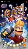 Buzz! Master Quiz for PSP PlayStation Portable Brand New Factory Sealed
