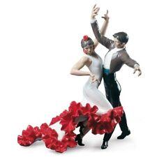 Lladro Flamenco Dancers Couple Figurine