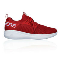Skechers Mens Go Run Fast Valor Training Gym Fitness Shoes Red Sports