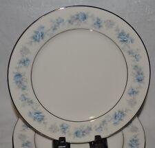 "Noritake Ivory China Splendor #7235 Blue Lilac Flower 8"" Luncheon Salad Plate 1"