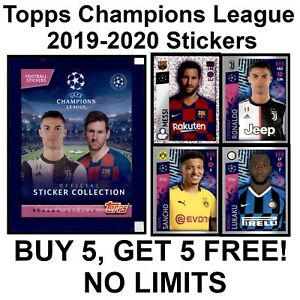 Topps Champions League 2019-2020 Stickers (400 to 499)