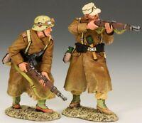 KING & COUNTRY AFRIKA KORPS AK079 WW2 GERMAN AK RIFLE SECTION MIB