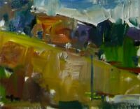 JOSE TRUJILLO OIL PAINTING 8X10 Impressionism Impasto MODERN CLOUDS ORIGINAL NEW