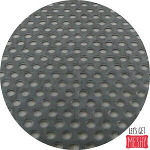 Mild Steel Perforated Sheet 2m x 1m 1.5mm thick R3 T5 Bin 29 - 500115032
