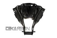 2011 - 2015 Kawasaki ZX10R Carbon Fiber Nose Fairing - 2x2 twill weaves