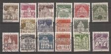 Handstamped Architecture Used German & Colonies Stamps