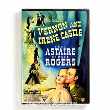 The Story of Vernon and Irene Castle DVD New Fred Astaire Ginger Rogers
