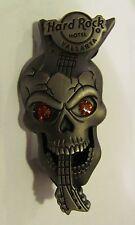 Hard Rock hotel pin, Vallarta Limited Edition 300, skull