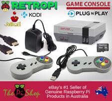 RetroPie Game Console w/ NESPi Case! RetroPi + Kodi Nintendo SNES Raspberry Pi 3