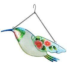 New listing Wild Bird Feeder 17 Inch Hummingbird Metal Outdoor Patio Decor 3.95 Pound Garden
