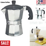 Cuban Coffee Maker Stove Top Italian Espresso Coffeemaker Percelator Moka Pot