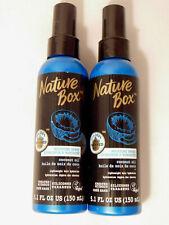2 Nature Box Moisture Spray 100% Cold Pressed Oil 5.1 FL OZ US (150 mL) LOT