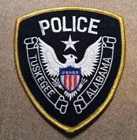 AL Tuskegee Alabama Police Patch