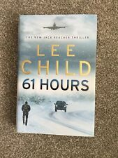LEE CHILD 61 Hours Signed Hardcover