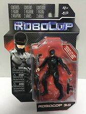 "JADA TOYS 2014 ROBOCOP 3.0 ACTION FIGURE - BLACK - 4"" inch TALL 10cm"