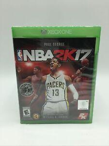 NBA 2K17 (Microsoft Xbox One, 2016) Paul George Cover NEW Sealed
