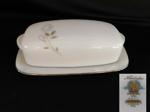 Noritake Altadena COVERED BUTTER DISH have many more items from this set