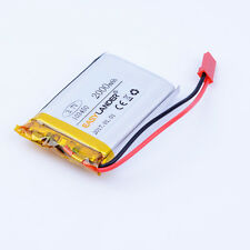 3.7V 2000mAh Li polymer battery with JST type Connector For GPS 103450 Dashcam