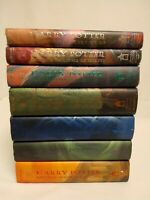 Harry Potter Complete Hard Cover Set: Books #1-7