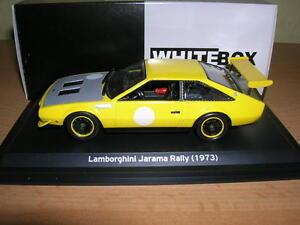 Whitebox Lamborghini Jarama Rally (1973) Yellow 1:43