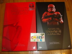 2019 SDCC Hot Toys Star Wars The Rise of Skywalker Red Sith Trooper