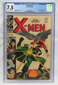Marvel Comics X-Men #29 CGC 7.5 Super-Adaptoid Appearance, Mimic Leaves 1967