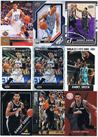 9 DANNY GREEN Lot 2 RC:Upper Deck/UD Draft,Hoops Green,Totally Certified Red/499