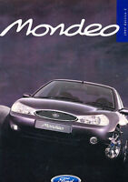 1997 Ford Mondeo Edition Sales Brochure UK