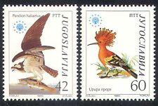 Yugoslavia 1985 Osprey/Hoopoe/Birds/Raptors/Nature Protection 2v set (n40227)