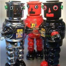 3 ROBOTER PLANET ROBOT MECHANISCH UHRWERK MIT SONDERFUNKTION -TURNING HEAD ROBOT