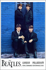 BEATLES 1963 Command Performance Concert Poster