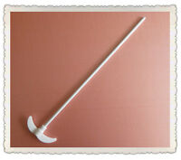 PTFE Stirrer,300mm,Diameter 7mm,Paddle 55mm,Stainless Steel W/PTFE Coat