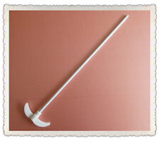 PTFE F4 Stirrer,400mm,Diameter 7mm,Paddle 85mm,304 Staff W/PTFE Coat