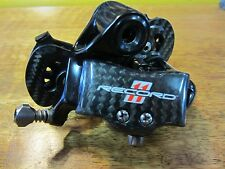 Campagnolo Record 11 Speed Rear Derailleur Carbon / Alloy Mid Cage Used Italy