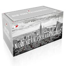 NEW YORK PHILHARMONIC ORCHESTRA - 175TH ANNIVERSARY EDITION  65 CD NEW+