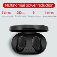 Mini TWS Headset Bluetooth 5.0 Kopfhörer Stereo Ohrhörer mit Ladekiste