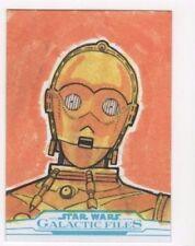 2017 Star Wars Galactic Files Reborn sketch card Eddie Price