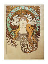 Reproduction Portrait Art Prints Alphonse Mucha