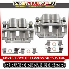 For 2003-2007 Chevrolet Express 2500 2 Rear Zinc Disc Brake Calipers