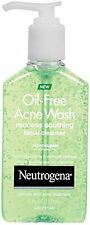 Neutrogena Oil-Free Acne Wash Redness Soothing Facial Cleanser 6 oz Each