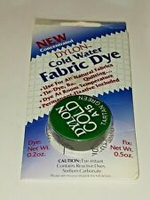 1 DYLON Cold water fabric dye A15 TARTAN GREEN batik quilting- fixative included