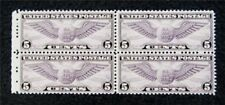 nystamps US Block Air Mail Stamp # C16 Mint OG H/NH $28 Block Of 4