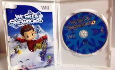 We Ski & Snowboard COMPLETE Nintendo Wii Game