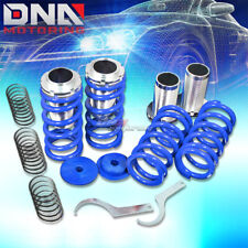"FOR 93-97 NISSAN ALTIMA U13 0-3""SCALED SUSPENSION BLACK COILOVER BLUE SPRINGS"