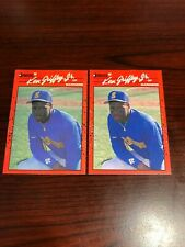 1990 Donruss Ken Griffey Jr. #365 (2) Rookie Cards